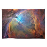 Galaxia del espacio de la nebulosa de Orión Mantel Individual