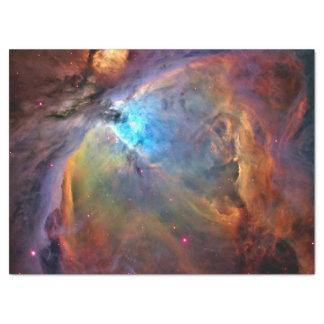 Galaxia del espacio de la nebulosa de Orión Papel De Seda Grande