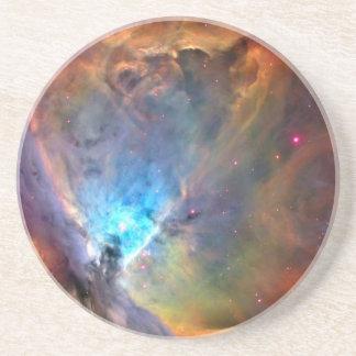 Galaxia del espacio de la nebulosa de Orión Posavasos Diseño
