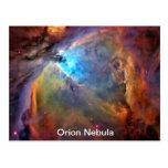 Galaxia del espacio de la nebulosa de Orión Postal