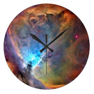 Galaxia del espacio de la nebulosa de Orión Reloj