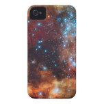 Galaxia del espacio exterior de la nebulosa de las iPhone 4 Case-Mate cobertura
