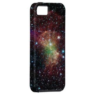 Galaxia del espacio iPhone 5 fundas