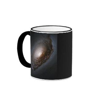 Galaxia del mal de ojo taza a dos colores