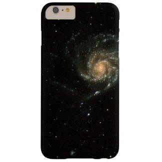 Galaxia del molinillo de viento funda para iPhone 6 plus barely there