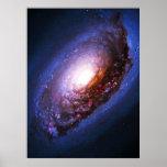 Galaxia del ojo morado - 64 más sucios (M64) Poster