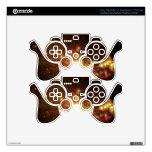 Galaxia del oro calcomanía para mando PS3