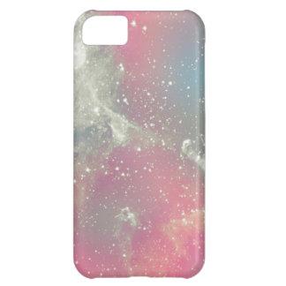 Galaxia del pastel de la nebulosa de Starbabe Funda Para iPhone 5C