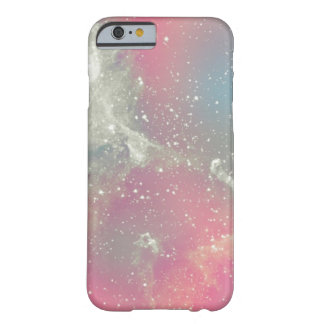 Galaxia del pastel de la nebulosa de Starbabe Funda Para iPhone 6 Barely There