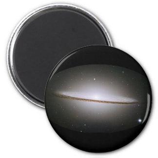 Galaxia del sombrero M104 Imán Redondo 5 Cm