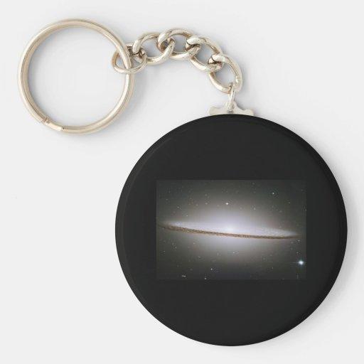 Galaxia del sombrero (M104) Llaveros