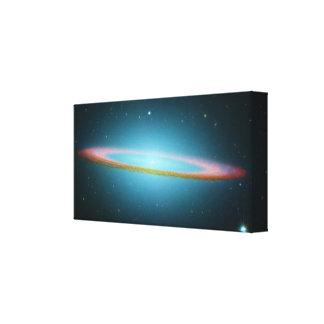 Galaxia del sombrero - M104 - lona envuelta Impresiones De Lienzo