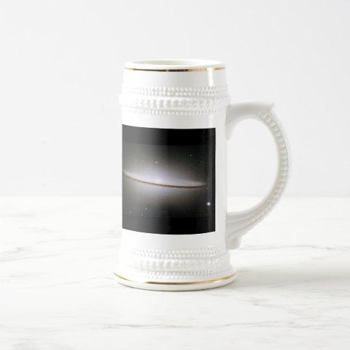 Galaxia del sombrero (M104) Taza De Café