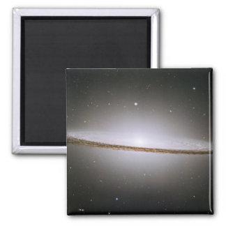 Galaxia del sombrero (telescopio de Hubble) Imán Cuadrado