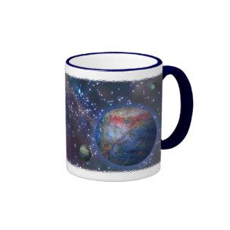 Galaxia distante tazas