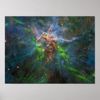Galaxia eléctrica poster