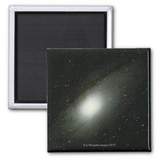 Galaxia en Andromeda Imán Cuadrado