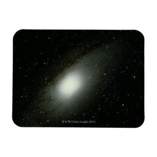 Galaxia en Andromeda Rectangle Magnet