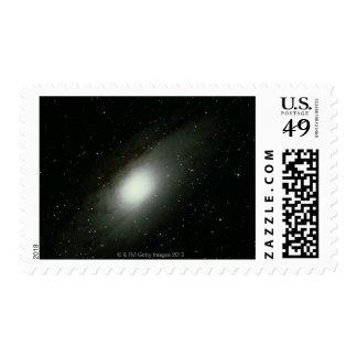 Galaxia en Andromeda Sello