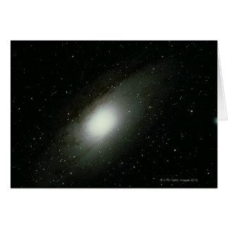 Galaxia en Andromeda Tarjetón