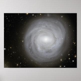 Galaxia en el borde póster