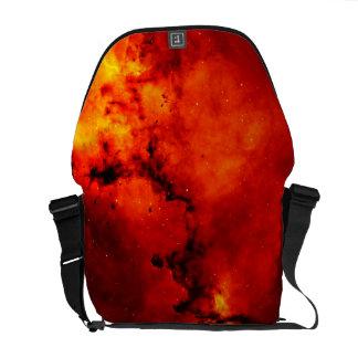 Galaxia en el fuego bolsas messenger