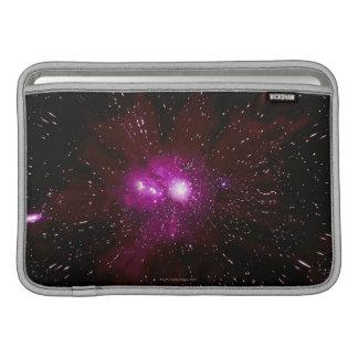 Galaxia en espacio fundas para macbook air