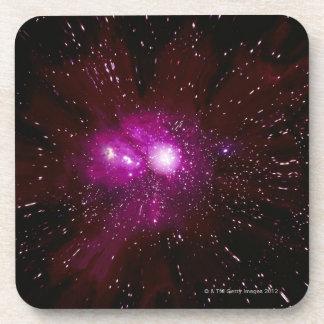 Galaxia en espacio posavasos