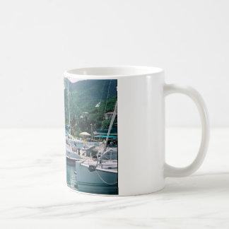 Galaxia en la Isleta-Tortola de la niñera Taza De Café