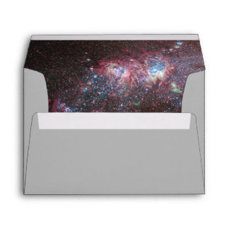Galaxia enana dentro del sobre