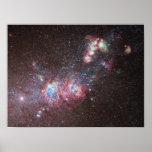Galaxia enana NGC 4214 Poster