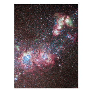 Galaxia enana NGC 4214 Tarjeta Postal