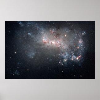 Galaxia enana NGC 4449 Póster