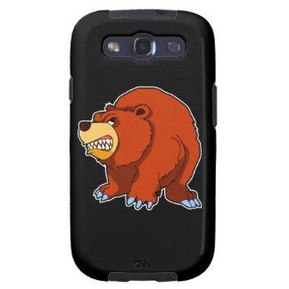 Galaxia enojada de Samsung del oso Galaxy SIII Funda