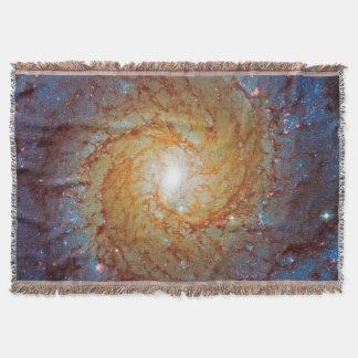 Galaxia espiral 74 más sucios manta