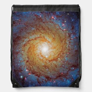 Galaxia espiral 74 más sucios mochilas