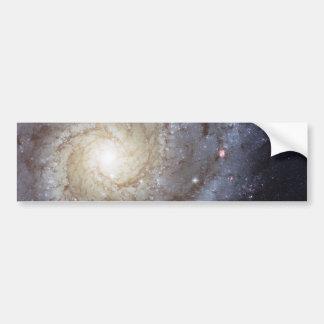 Galaxia espiral 74 NGC más sucios 628 Pegatina De Parachoque