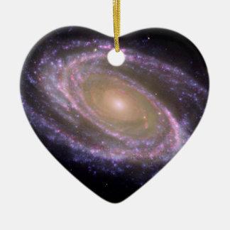 Galaxia espiral 81 más sucios adorno para reyes
