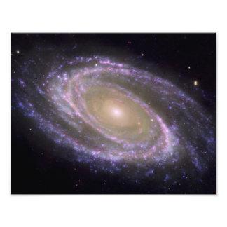 Galaxia espiral 81 más sucios arte con fotos