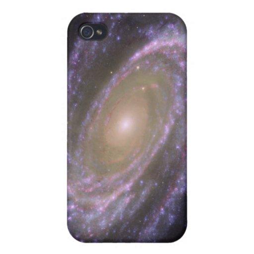Galaxia espiral 81 más sucios iPhone 4 fundas