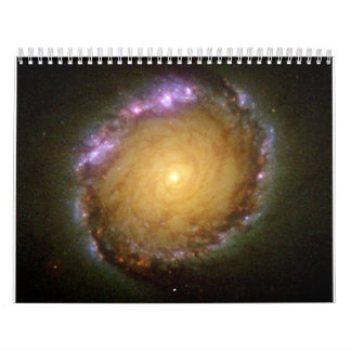 Galaxia espiral barrada NGC 1512 en muchas longitu Calendario De Pared