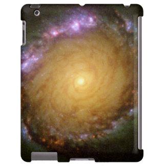 Galaxia espiral barrada NGC 1512 en muchas longitu Funda Para iPad