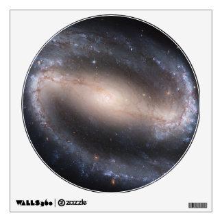 Galaxia espiral barrada vinilo adhesivo