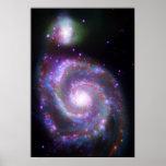Galaxia espiral clásica impresiones