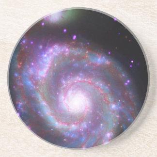 Galaxia espiral clásica posavasos manualidades