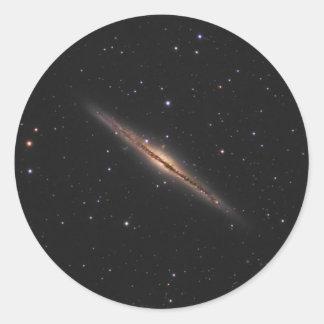 Galaxia espiral de la NASA de Caldwell 23 Pegatina