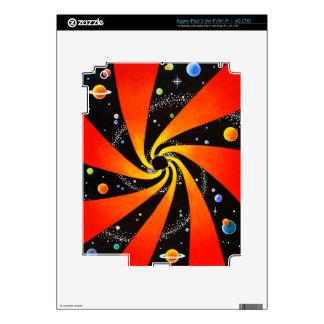 GALAXIA ESPIRAL HIPNÓTICA iPad 3 SKINS
