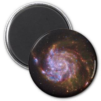 Galaxia espiral iman para frigorífico