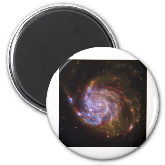 Galaxia espiral imanes de nevera