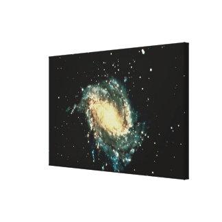 Galaxia espiral impresiones en lona
